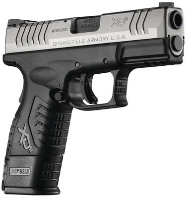 springfield armory xdm handgun on white background