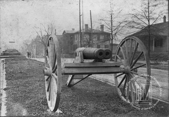 double barrel cannon