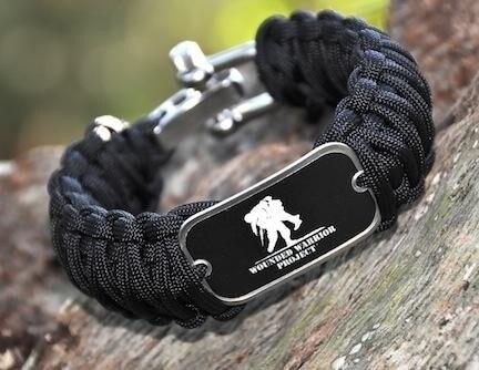 wounded warrior paracord bracelet