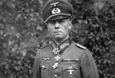 Nazi general Erwin Rommel