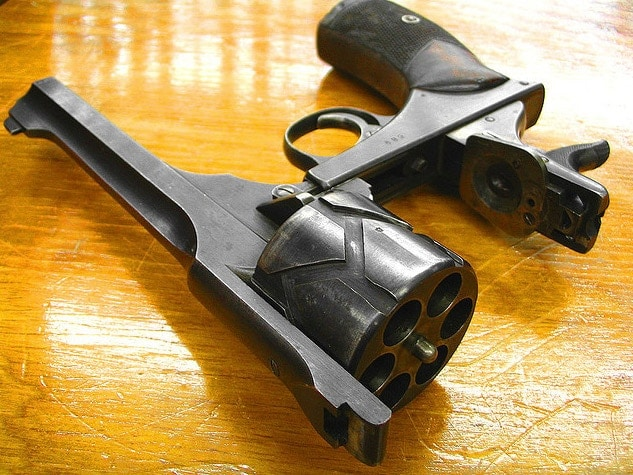 Webley-Fosberry Automatic Revolver