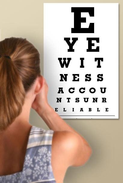 Eyechart witnessess.