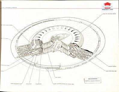 ufo flying saucer schematics