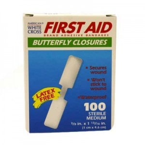 first aid butterfly closures