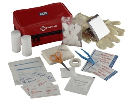 first aid kit for shooting