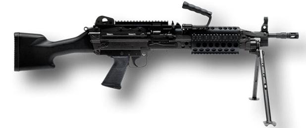 FNH FN MK 46 M249 SAW Machine Gun