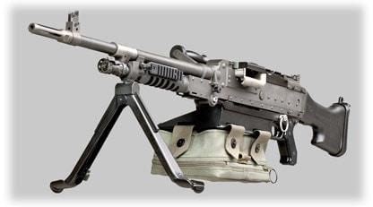 FN MAG Machine Gun