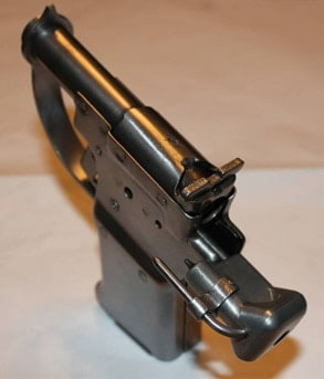 A top view of the FP-45 Liberator.