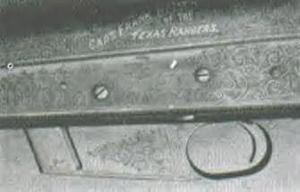 closeup photo of texas ranger shotgun