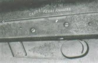 closeup photo of texas ranger shotgun