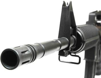 mfour rifle barrel view