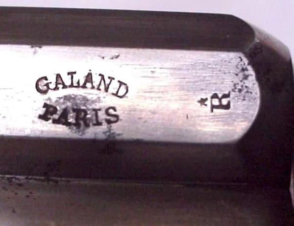 Galand company mark on Velo revolver