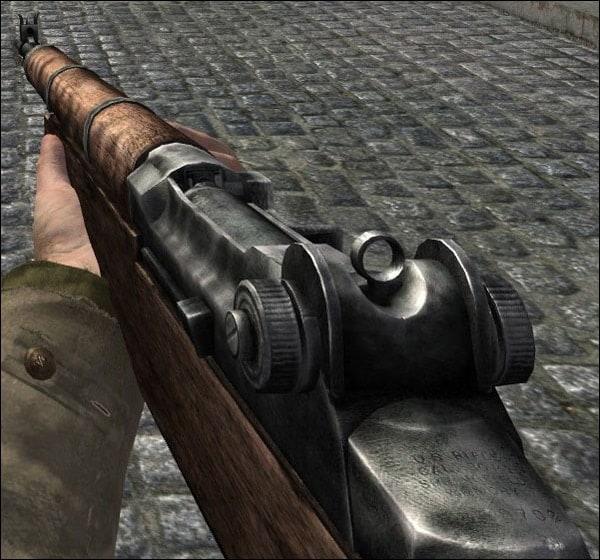 gun in video game screencaps