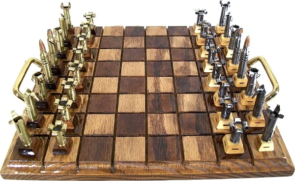 ammunition chess pieces