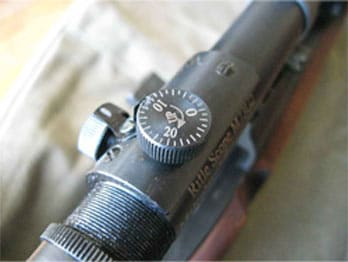 Gibbs M1903A4 rifle scope knobs
