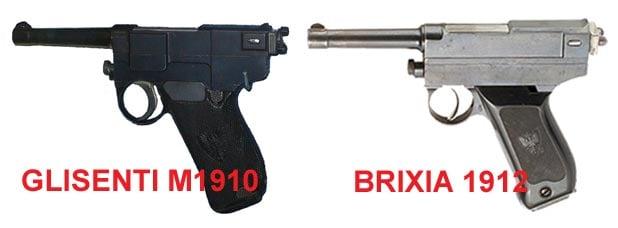 Glisenti 1910 and the Brixia 1912