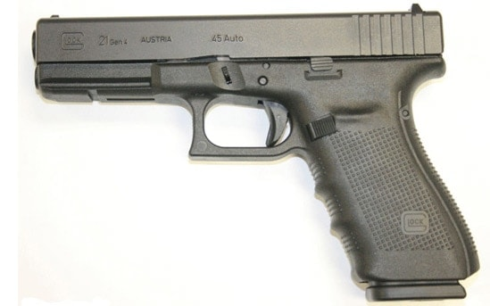Glock 21 Gen 4 in .45 ACP.