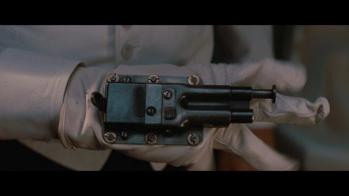 "The Glove Gun in the film ""Inglourious Basterds."""