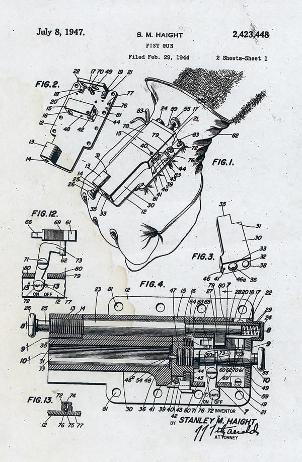 Glove gun designs.