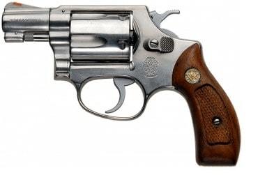 The Smith & Wesson J-frame, Model 36 revolver.