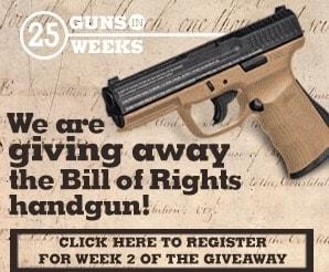 gun giveaway advertisement