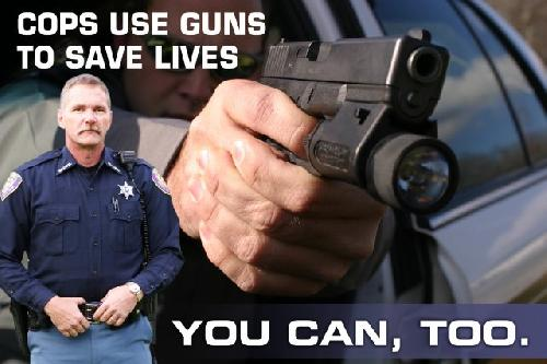 Guns Save Lives poster