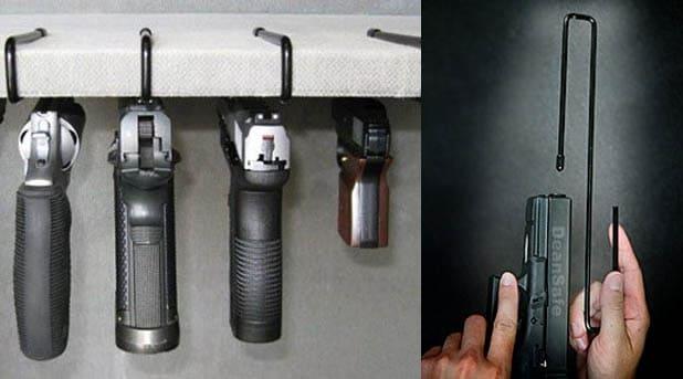 Dean Safe Pistol Hangers