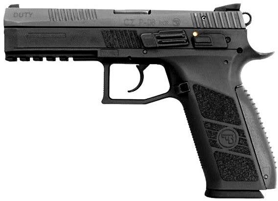 cz p-08 handgun