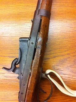 The Hall rifle.