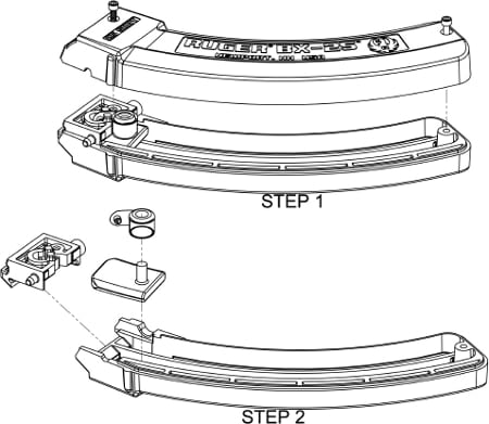 illustrated diagram of ruger 10/22 magazines