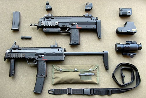MP7 and accessories