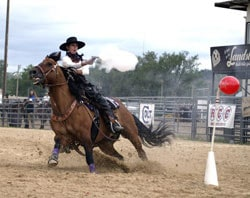 Mounted shooting is one of the fasted growing competitive sports.