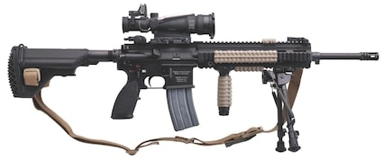 hk 416 with strap