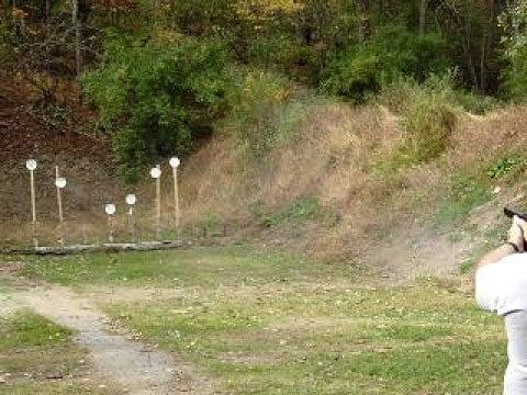 outside range shooting targets