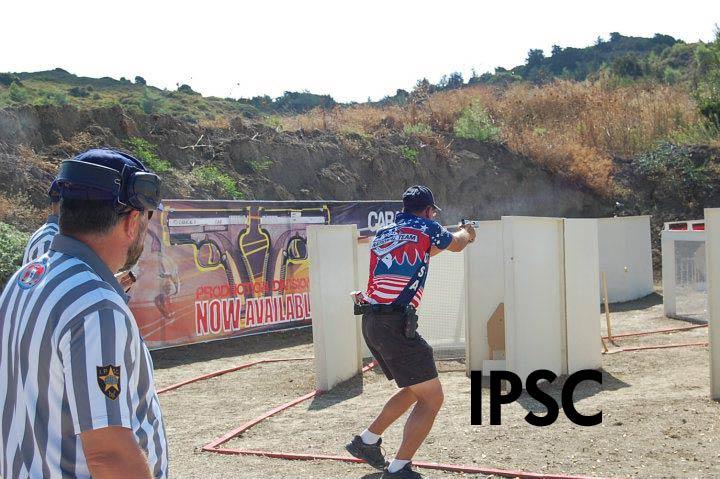 Competitive pistol shooting uspsa idpa