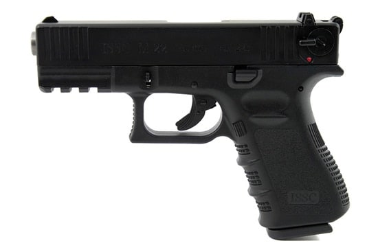 issc m22 black  handgun