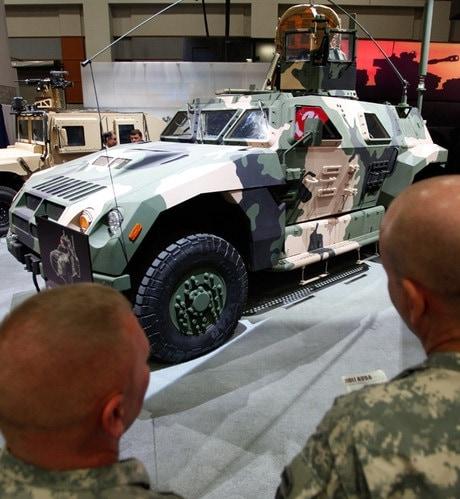 blast-proof vehicles