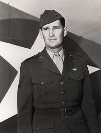 Joe Foss was an aerial combat ace in World War II.