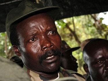 Joseph Kony of the Lord's Resistance Army