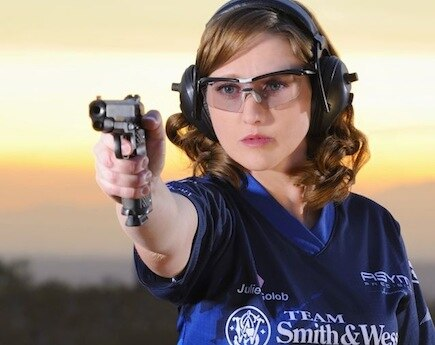 Smith & Wesson Team Captain Julie Golob New Media