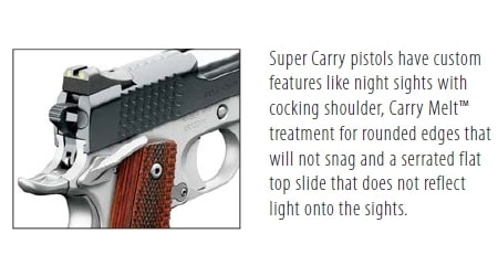 super carry pistols