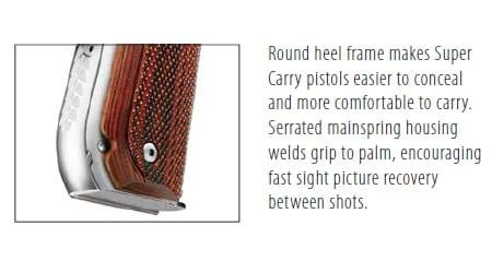 round heel frame