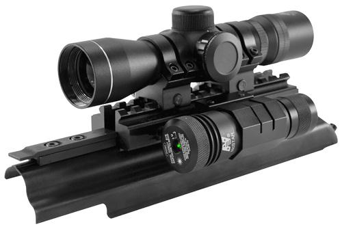 NcSTAR Top Cover Rail with Scope
