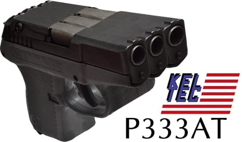 Prototype three-barreled P333AT (Photoshop joke)