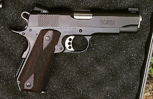 The Ed Brown Kobra Carry used for this review.