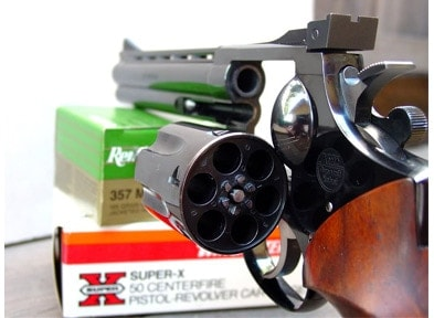 Korth Combat Revolver .357 Magnum Cylinder