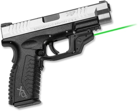 Green laser on an XD(m)
