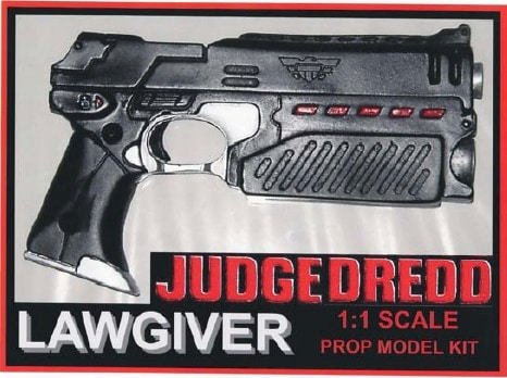 The Lawgiver in Judge Dredd