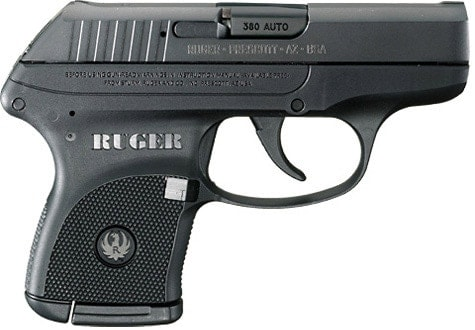 Ruger LCP concealed carry gun in .380 ACP