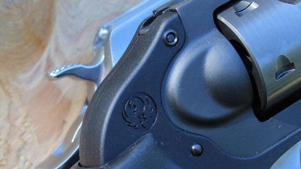 The LCR on top of a Ruger SP101